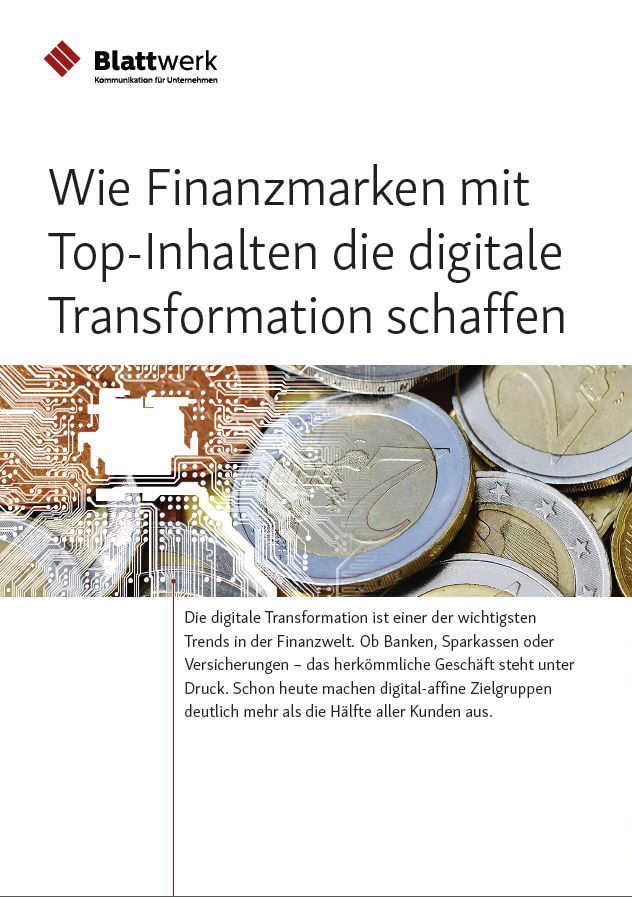 Finanz-Content für die Digitale Transformation